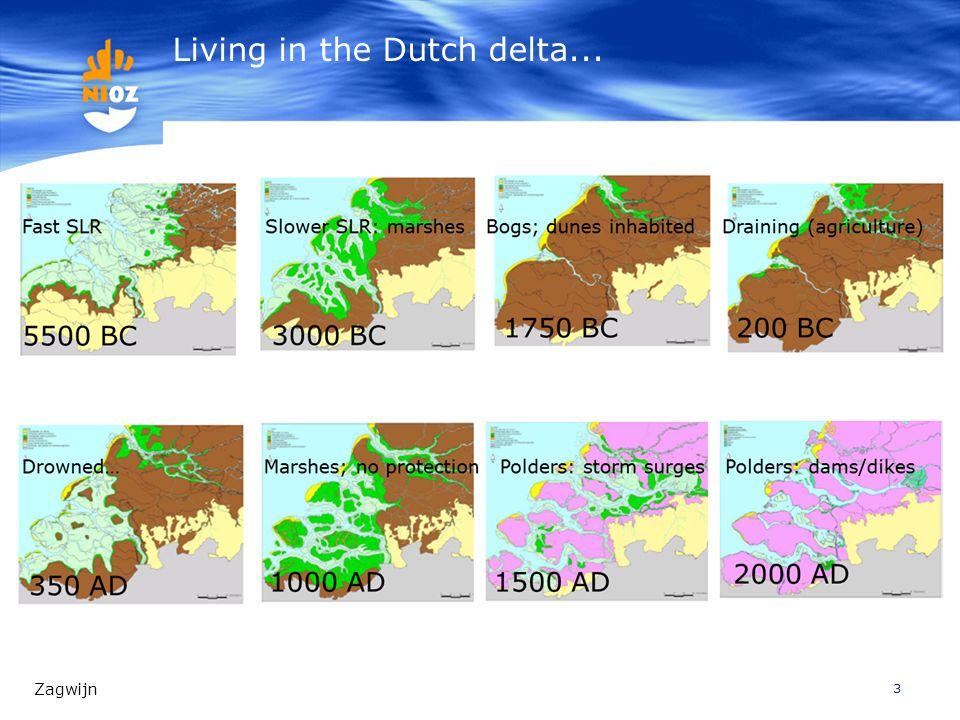 3 Living in the Dutch delta... Zagwijn
