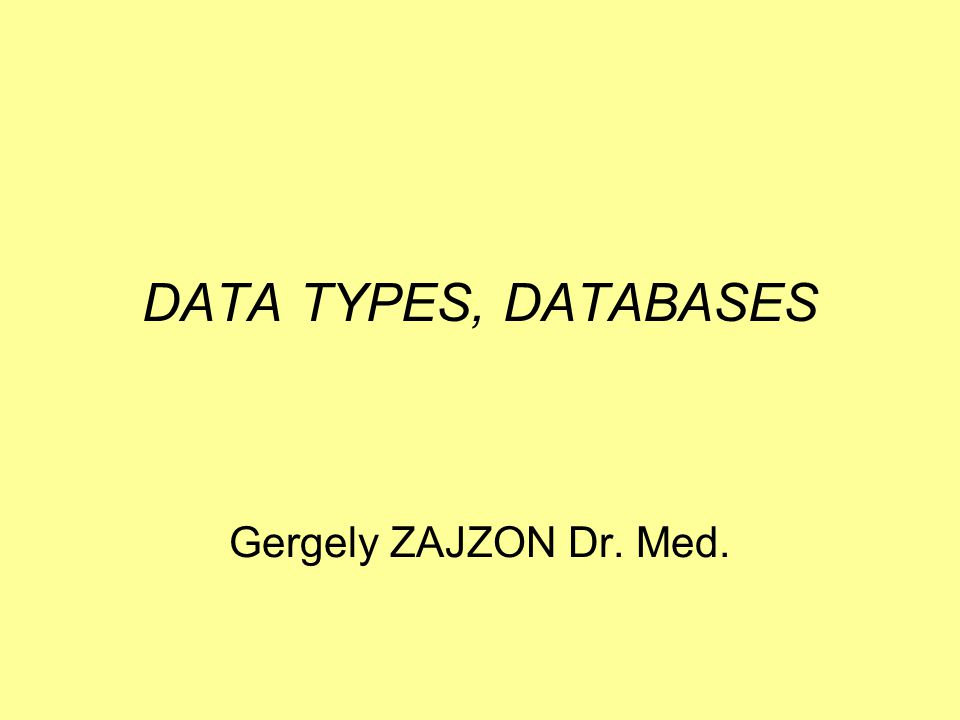 32 DATABASE Data collection organized on the basis of a data model.