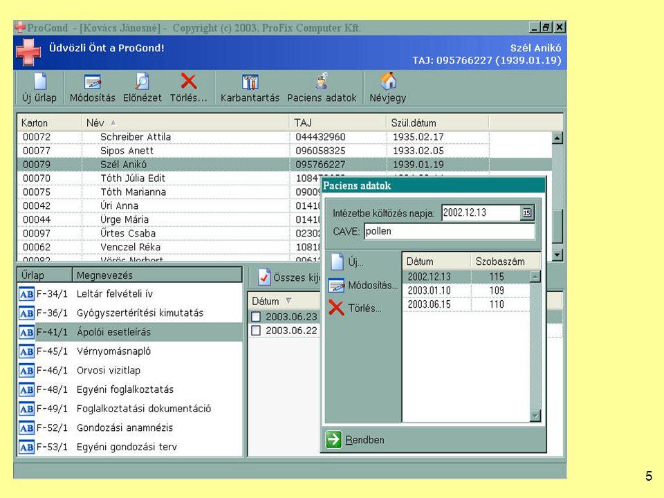 26 SPREADSHEET DATABASE NamePostal code CityAddressDoctorOff_P C Office_cityOff_addressOffice_phone Balla Béla2080ÉrdFő u.