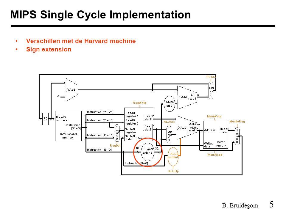 46 B. Bruidegom Microprogramming Behoort niet tot de stof What are the microinstructions ?