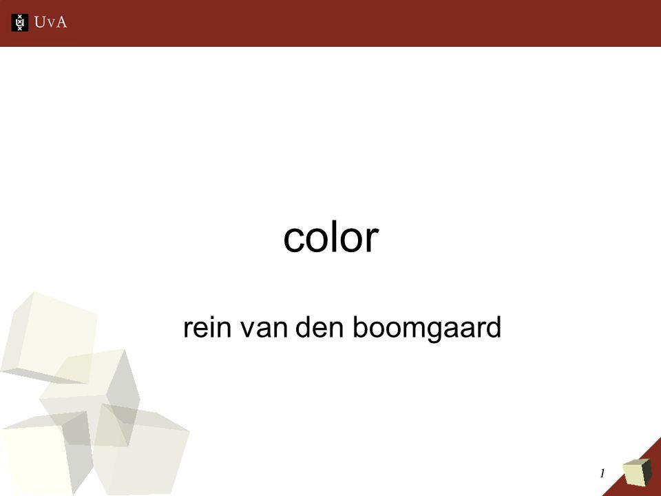 1 color rein van den boomgaard