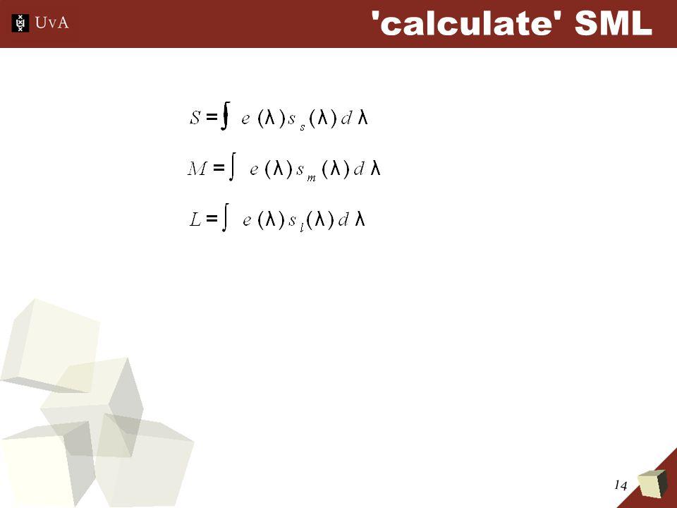 14 calculate SML
