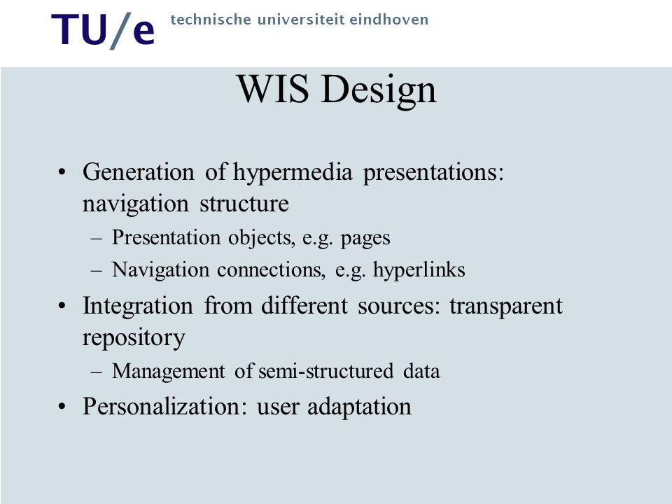 TU/e technische universiteit eindhoven Shopping Cart: example of CM data manipulations