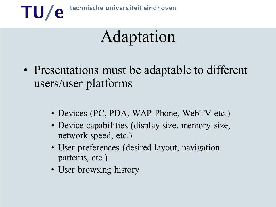 TU/e technische universiteit eindhoven Application Model Example