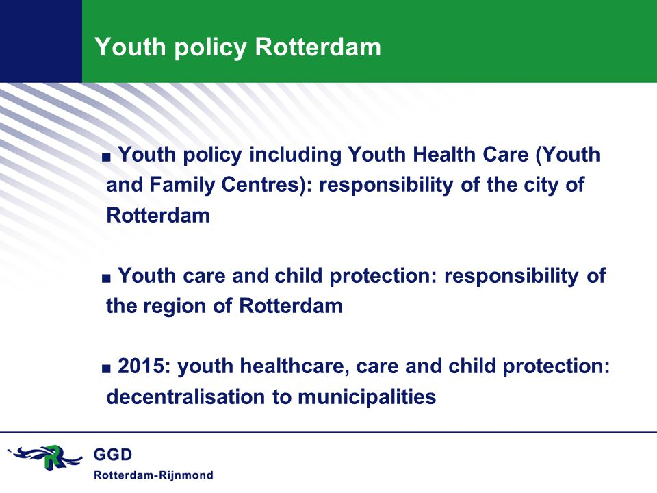 Youth policy Rotterdam.