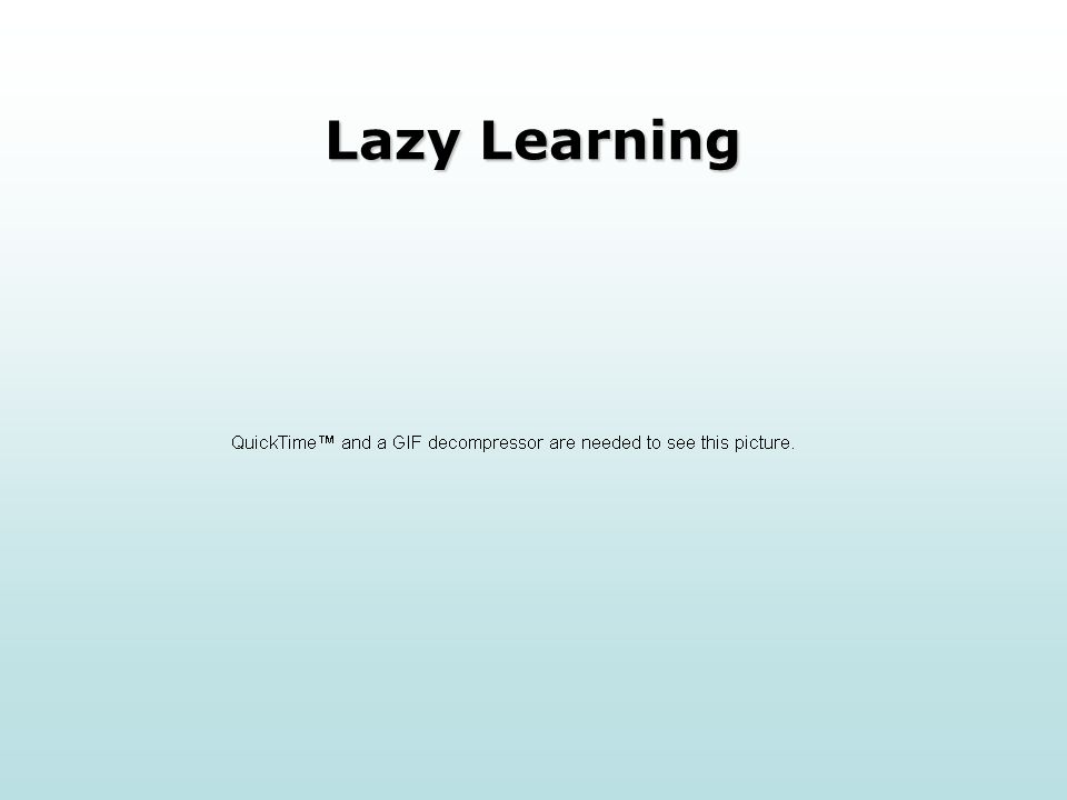 Lazy Learning