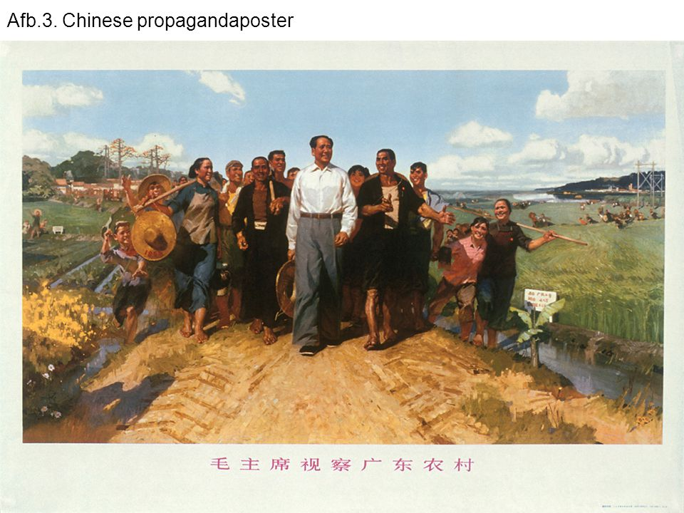 Afb.3. Chinese propagandaposter