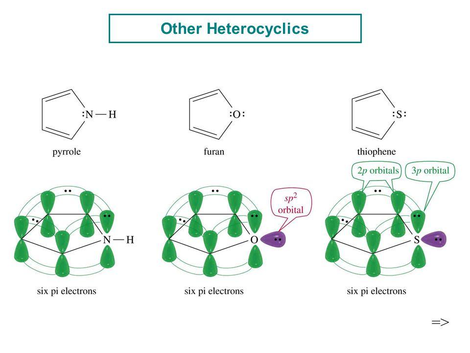 indolebenzofuran benzothiophene Other Heterocyclics