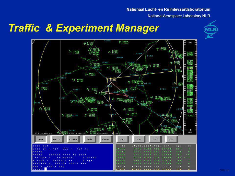 Nationaal Lucht- en Ruimtevaartlaboratorium National Aerospace Laboratory NLR CXXX-11A Traffic & Experiment Manager