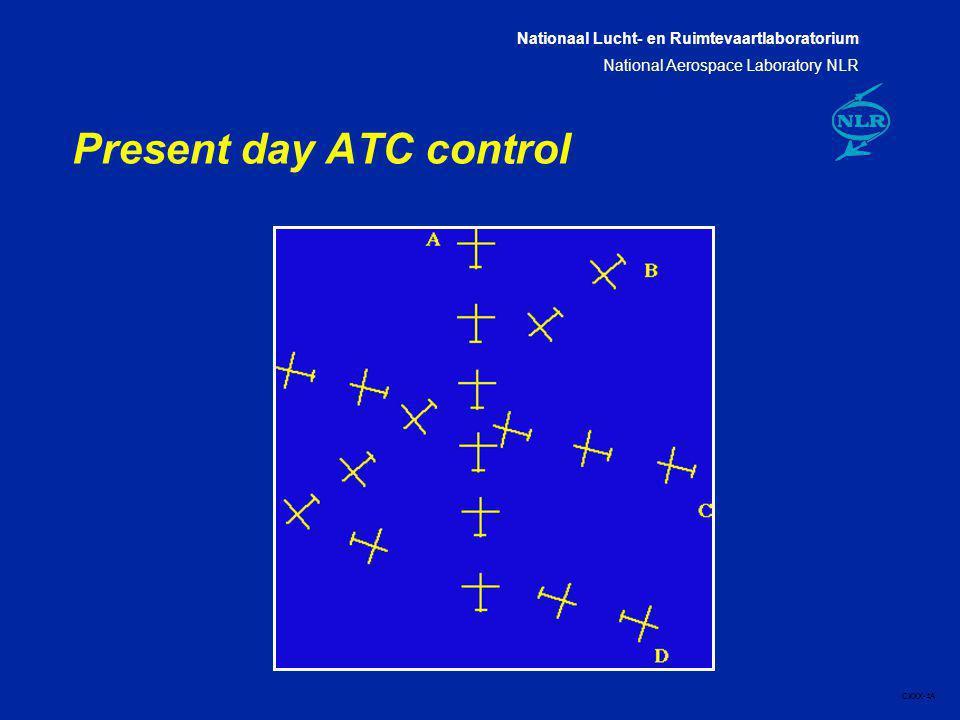 Nationaal Lucht- en Ruimtevaartlaboratorium National Aerospace Laboratory NLR CXXX-4A Present day ATC control
