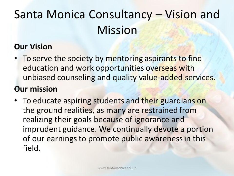 Santa Monica Cochin The growing needs of the society in 2002 paved for our humble beginning.