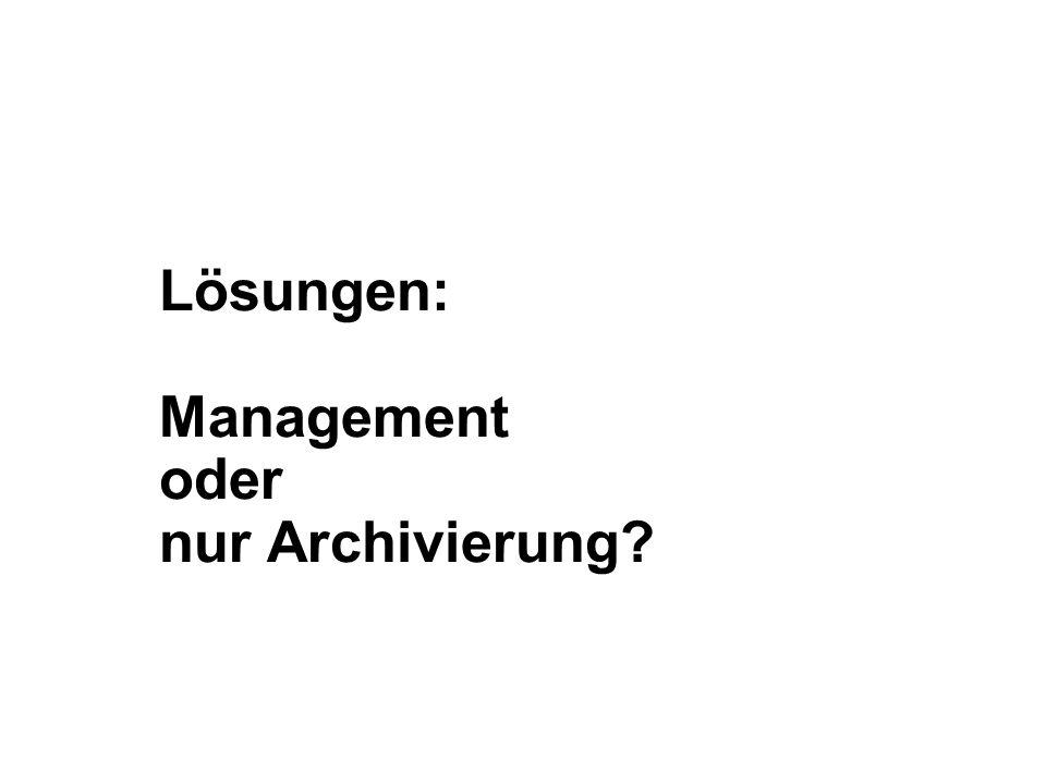20 Grundsätze und Herausforderungen der E-Mail-Archivierung Dr.