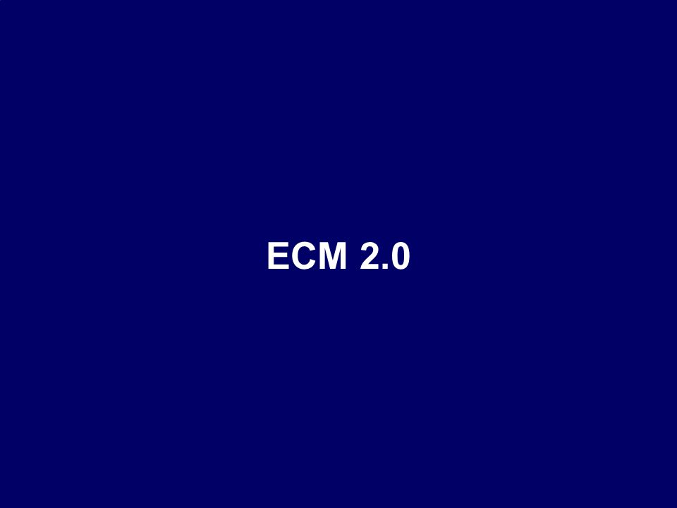39 CIO Dialog ECM-Schlüsseltechnologie für globale Serviceorientierung Dr.