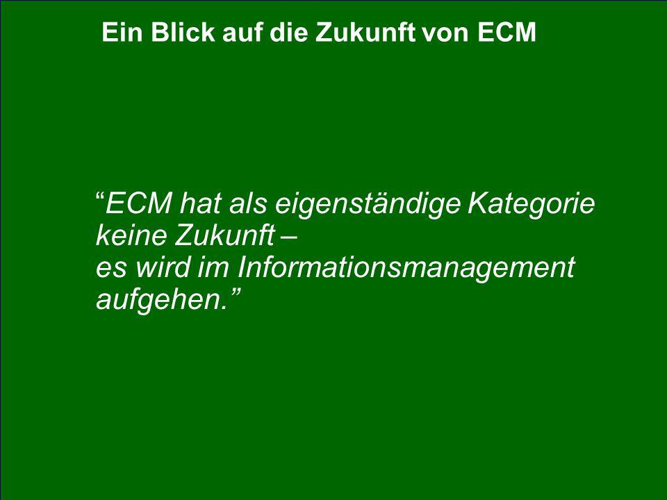 47 CIO Dialog ECM-Schlüsseltechnologie für globale Serviceorientierung Dr.