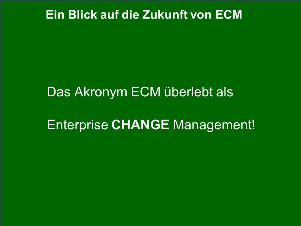 48 CIO Dialog ECM-Schlüsseltechnologie für globale Serviceorientierung Dr.