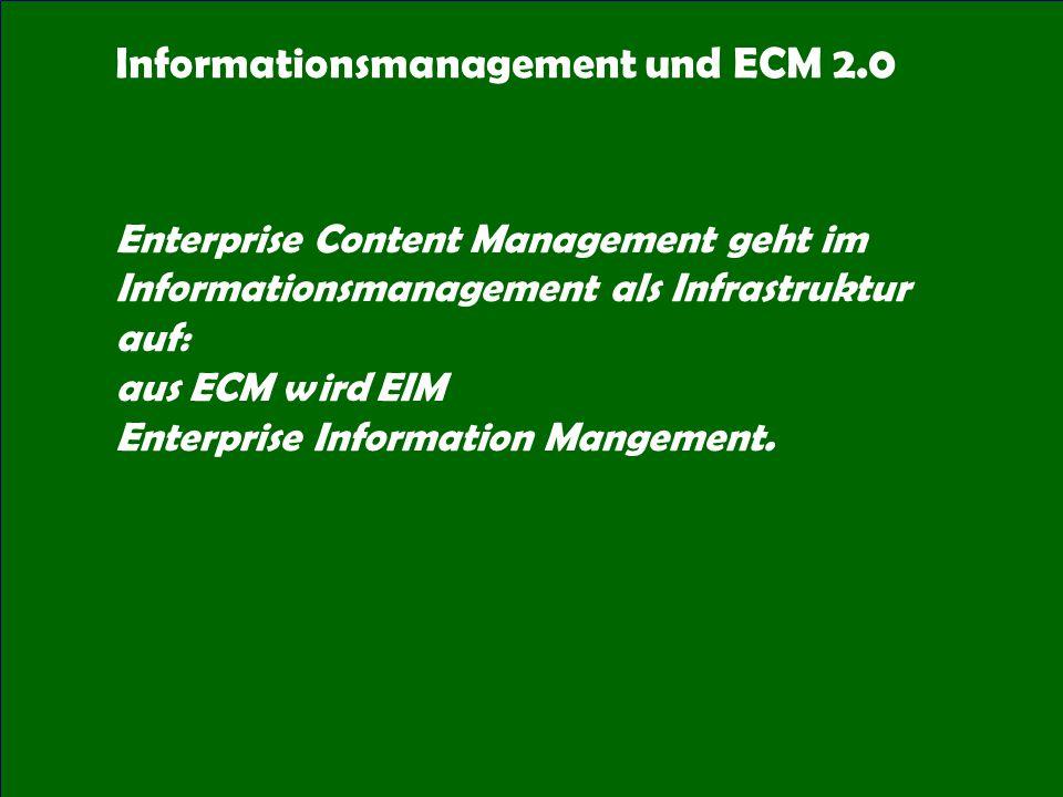 49 CIO Dialog ECM-Schlüsseltechnologie für globale Serviceorientierung Dr.