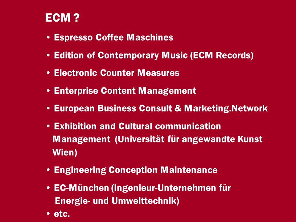 8 CIO Dialog ECM-Schlüsseltechnologie für globale Serviceorientierung Dr.