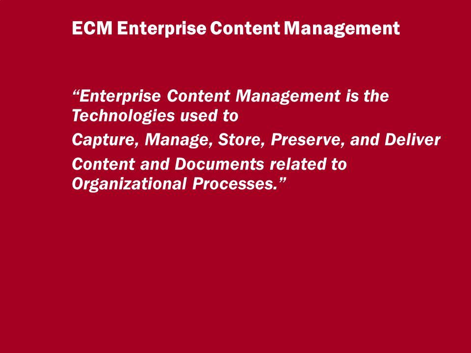 9 CIO Dialog ECM-Schlüsseltechnologie für globale Serviceorientierung Dr.