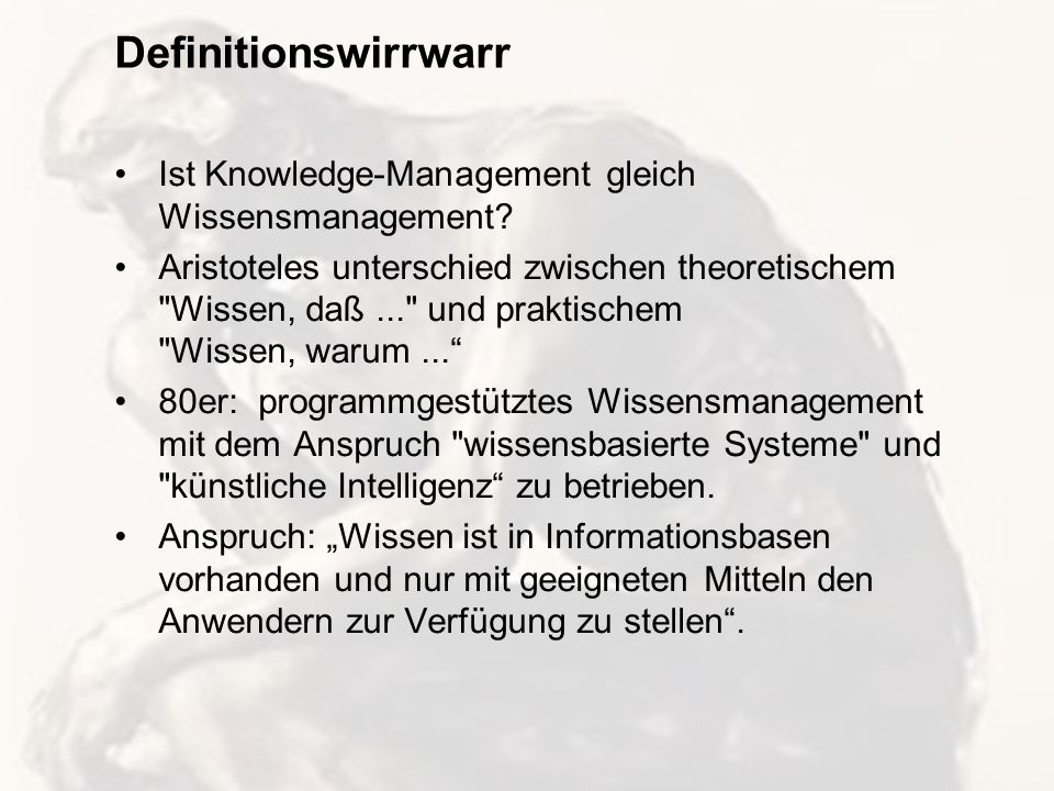 7 Intranet als Knowledge Space Dr.