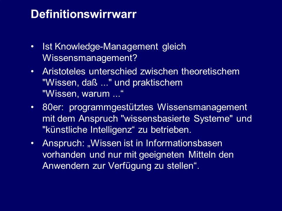 13 Renaissance des Wissensmanagement Dr.