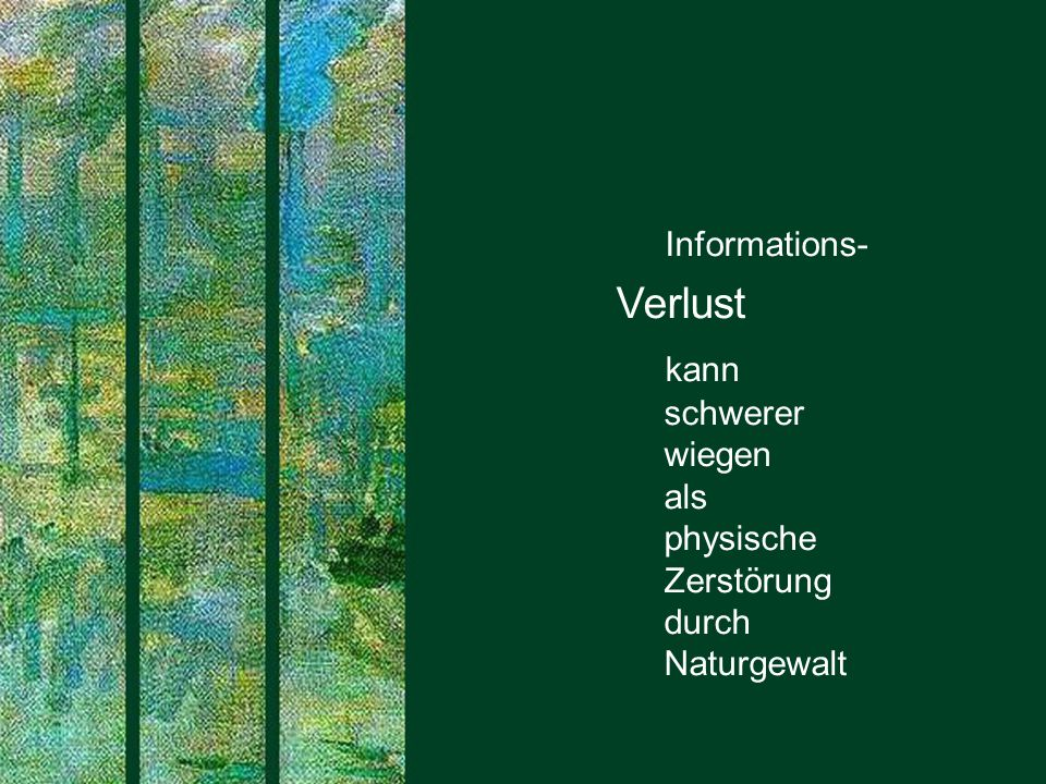 274 SAPERIONcongress ECM 2.0 Dr.Ulrich Kampffmeyer PROJECT CONSULT Unternehmensberatung Dr.
