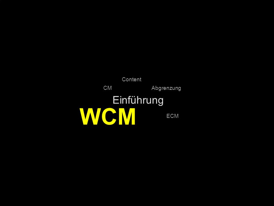 13 Kernpunkt Kompetenztag ECM 2.0. Dr. Ulrich Kampffmeyer PROJECT CONSULT Unternehmensberatung Dr.