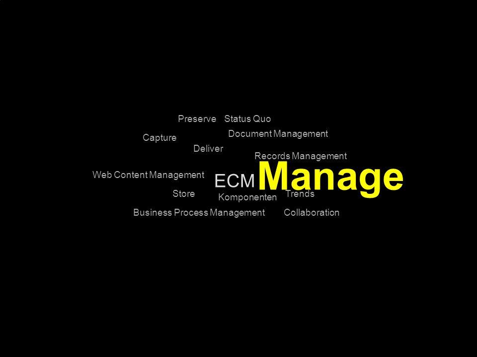 28 Kernpunkt Kompetenztag ECM 2.0. Dr. Ulrich Kampffmeyer PROJECT CONSULT Unternehmensberatung Dr.