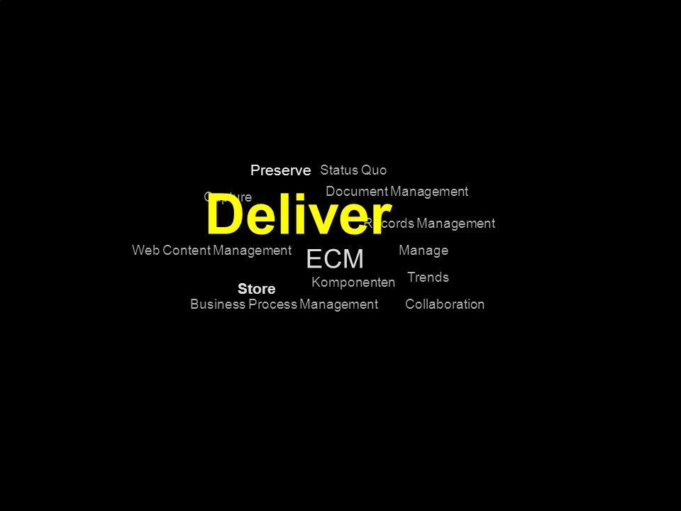 43 Kernpunkt Kompetenztag ECM 2.0. Dr. Ulrich Kampffmeyer PROJECT CONSULT Unternehmensberatung Dr.