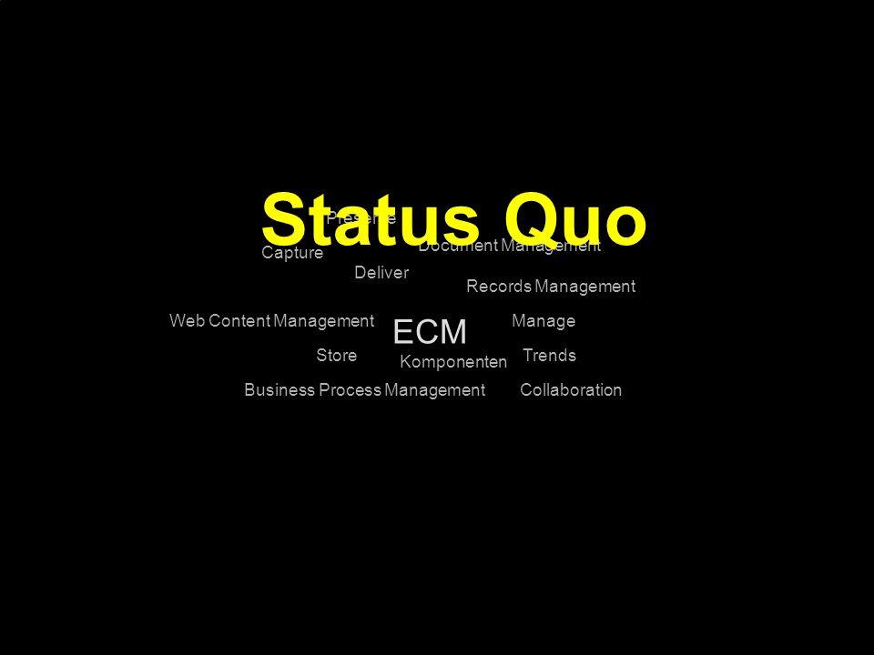 45 Kernpunkt Kompetenztag ECM 2.0. Dr. Ulrich Kampffmeyer PROJECT CONSULT Unternehmensberatung Dr.