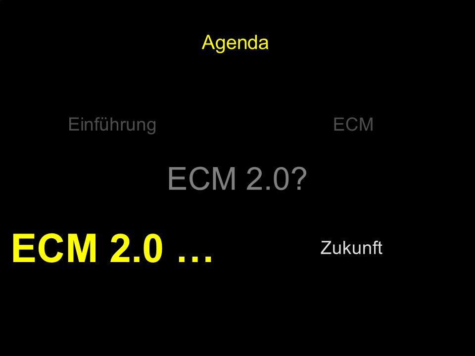 72 Kernpunkt Kompetenztag ECM 2.0. Dr. Ulrich Kampffmeyer PROJECT CONSULT Unternehmensberatung Dr.