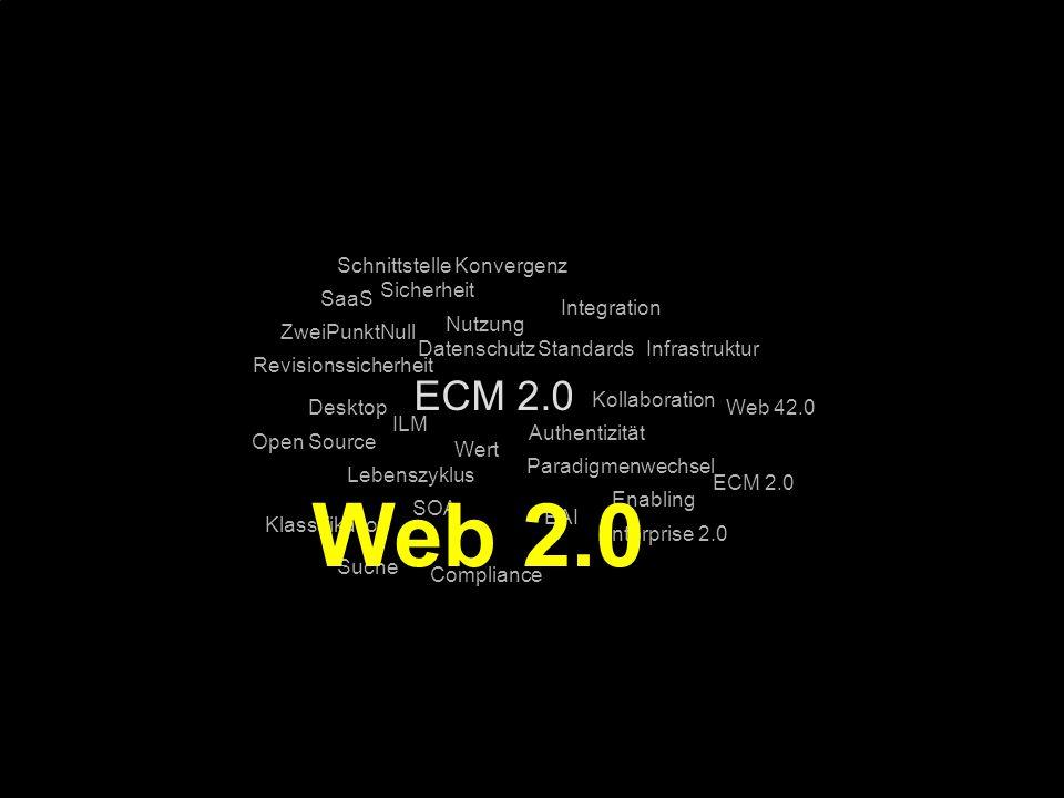 75 Kernpunkt Kompetenztag ECM 2.0. Dr. Ulrich Kampffmeyer PROJECT CONSULT Unternehmensberatung Dr.