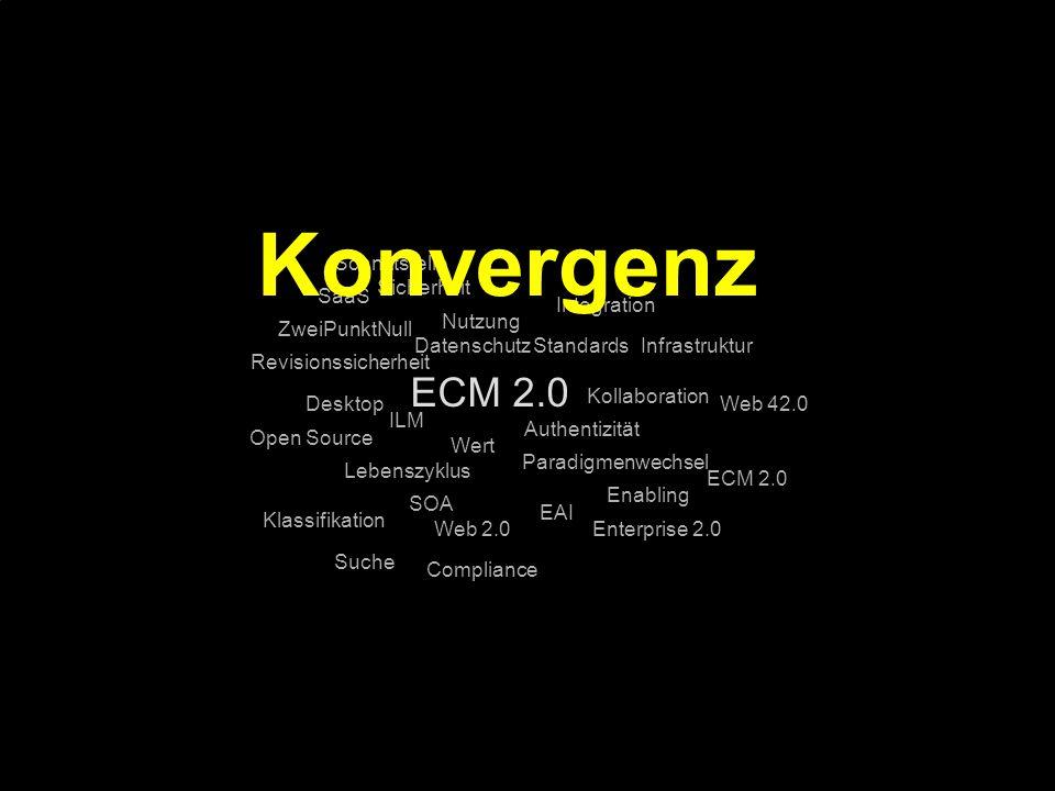 80 Kernpunkt Kompetenztag ECM 2.0. Dr. Ulrich Kampffmeyer PROJECT CONSULT Unternehmensberatung Dr.