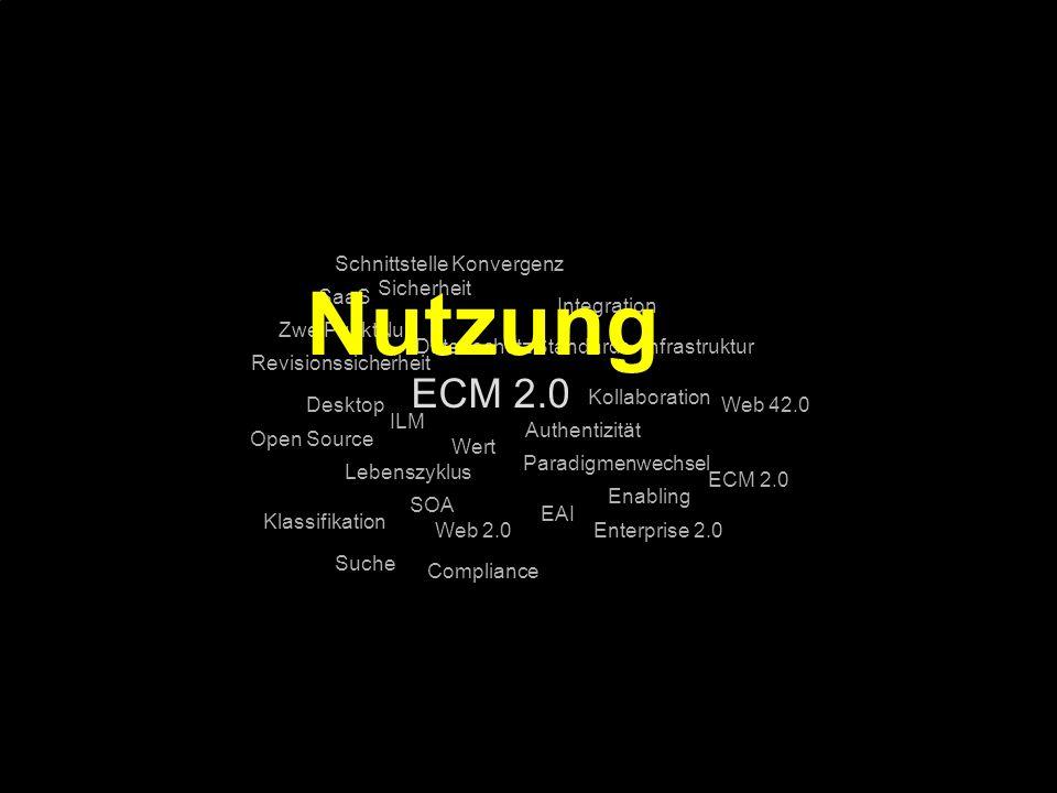 89 Kernpunkt Kompetenztag ECM 2.0. Dr. Ulrich Kampffmeyer PROJECT CONSULT Unternehmensberatung Dr.