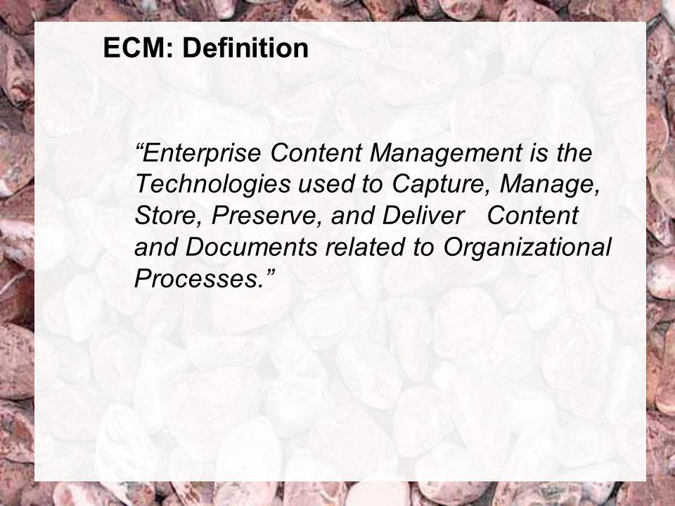 5 Coextant Enterprise Content Management: Status Quo und Zukunft Dr. Ulrich Kampffmeyer PROJECT CONSULT Unternehmensberatung Dr. Ulrich Kampffmeyer Gm