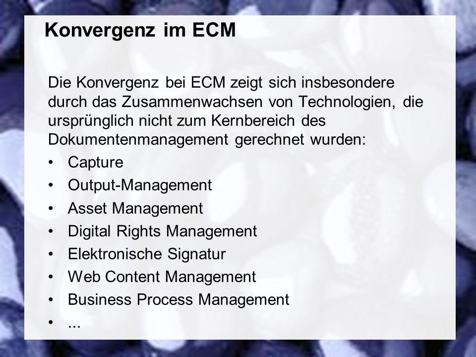 54 Coextant Enterprise Content Management: Status Quo und Zukunft Dr.