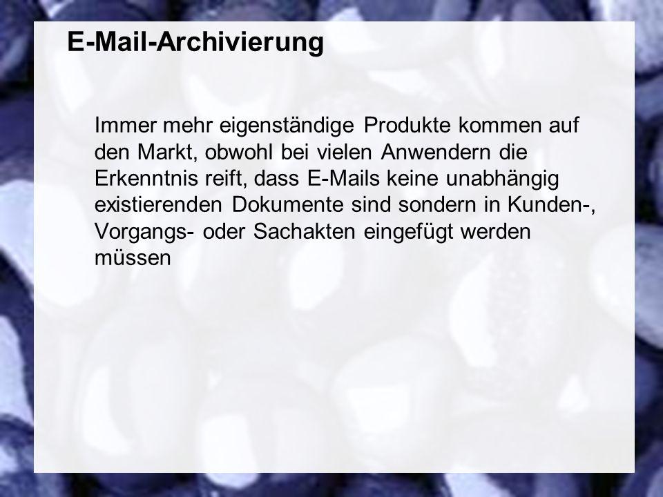 55 Coextant Enterprise Content Management: Status Quo und Zukunft Dr. Ulrich Kampffmeyer PROJECT CONSULT Unternehmensberatung Dr. Ulrich Kampffmeyer G
