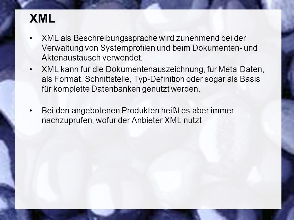 63 Coextant Enterprise Content Management: Status Quo und Zukunft Dr. Ulrich Kampffmeyer PROJECT CONSULT Unternehmensberatung Dr. Ulrich Kampffmeyer G