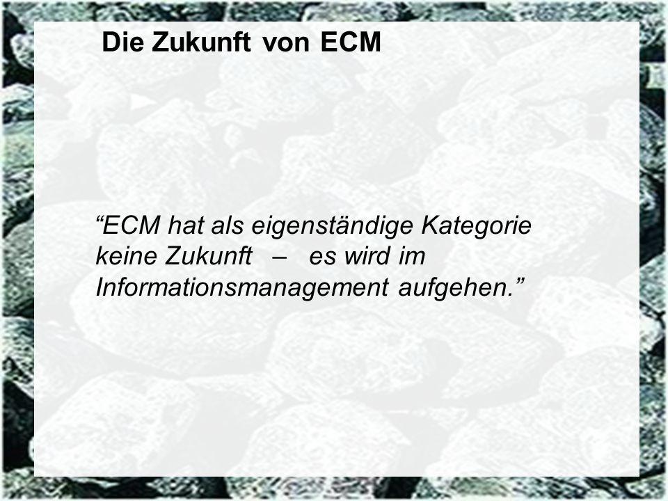 81 Coextant Enterprise Content Management: Status Quo und Zukunft Dr. Ulrich Kampffmeyer PROJECT CONSULT Unternehmensberatung Dr. Ulrich Kampffmeyer G