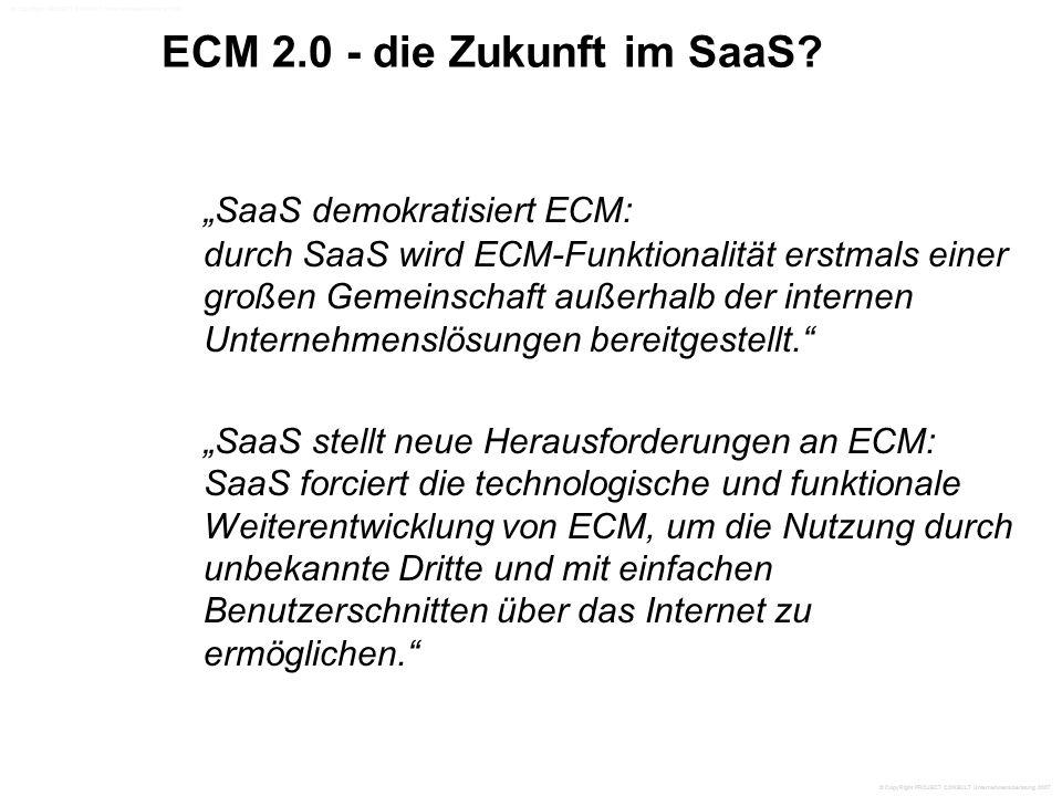 ECM 2.0 - die Zukunft im SaaS.