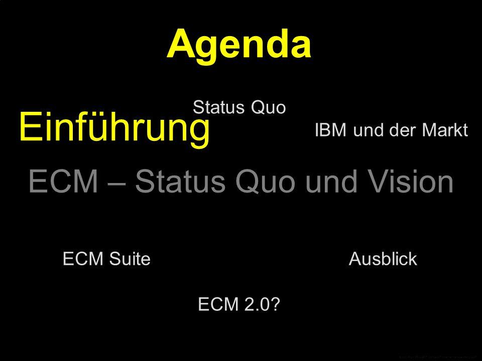 Einführung EntstehungDefinition ECM © CopyRight PROJECT CONSULT Unternehmensberatung 2007