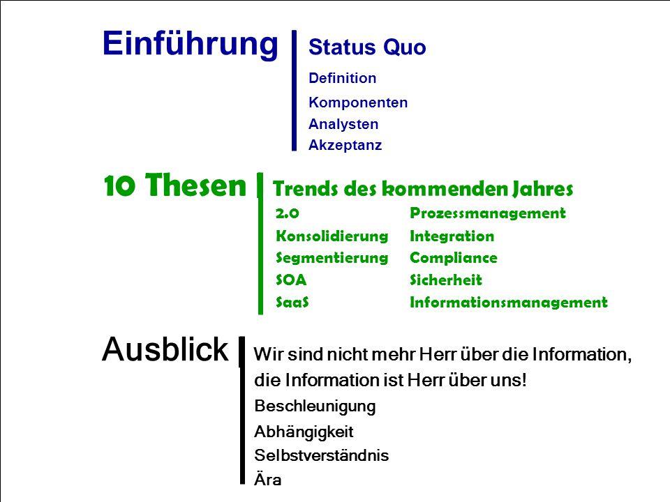 2 Computerwoche ECM 2007 Dr. Ulrich Kampffmeyer PROJECT CONSULT Unternehmensberatung Dr. Ulrich Kampffmeyer GmbH Breitenfelder Straße 17 20251 Hamburg