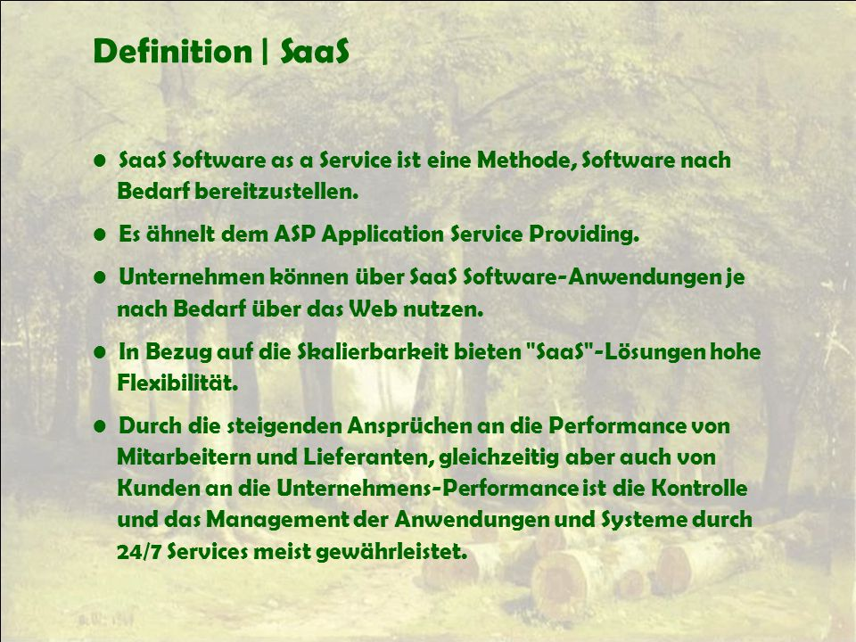 Definition | SaaS SaaS Software as a Service ist eine Methode, Software nach Bedarf bereitzustellen.
