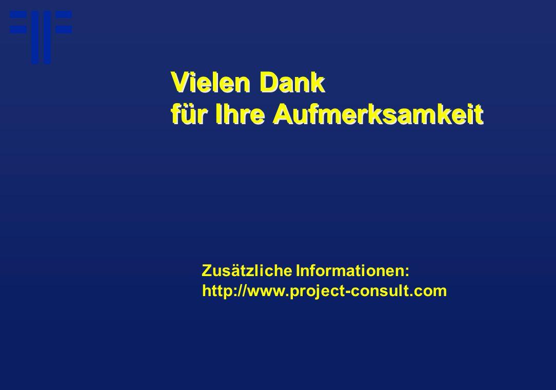 Zusätzliche Informationen: http://www.project-consult.com