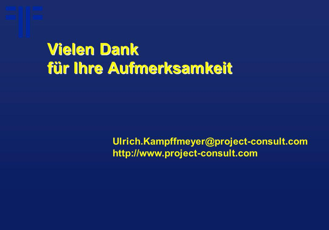 Ulrich.Kampffmeyer@project-consult.com http://www.project-consult.com