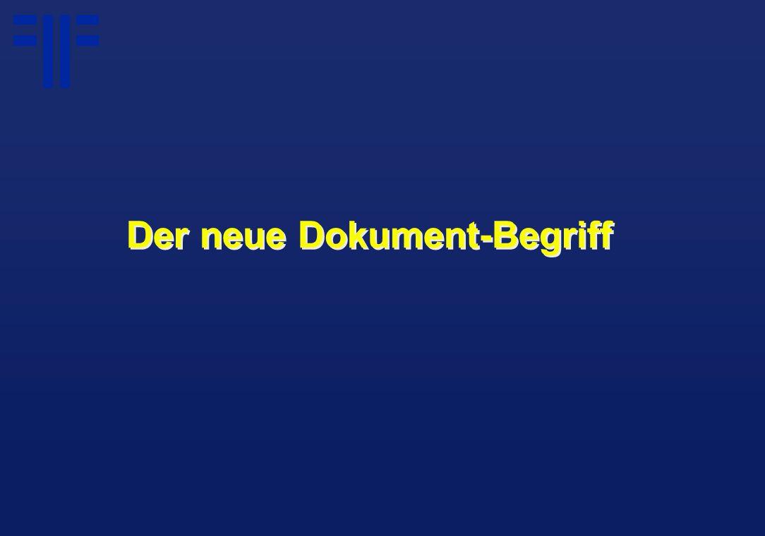 eDocument Ein Dokument kann alles sein:...ein gescanntes Faksimile...