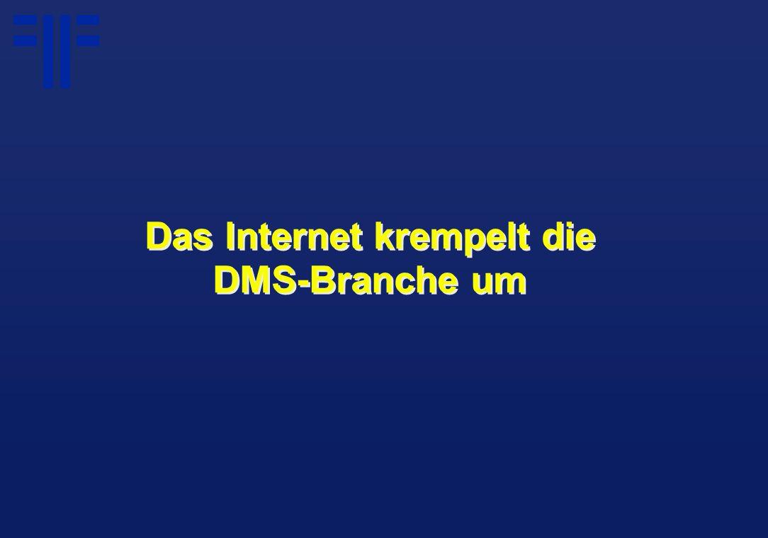 Das Internet krempelt die DMS-Branche um