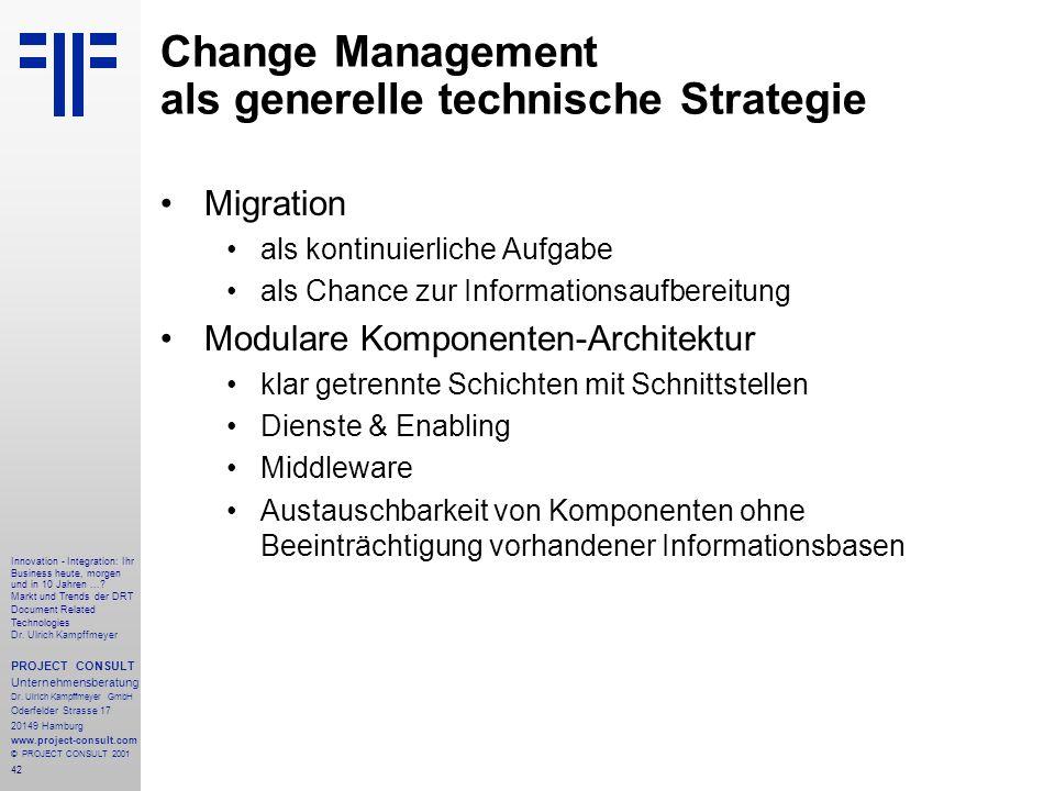 42 Innovation - Integration: Ihr Business heute, morgen und in 10 Jahren....