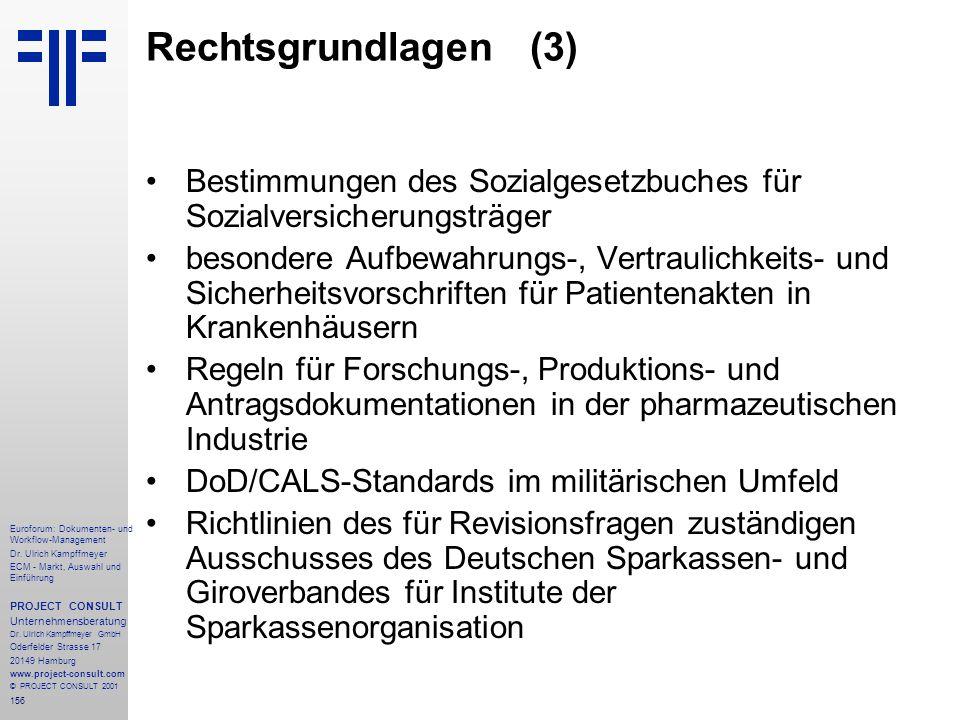156 Euroforum: Dokumenten- und Workflow-Management Dr.
