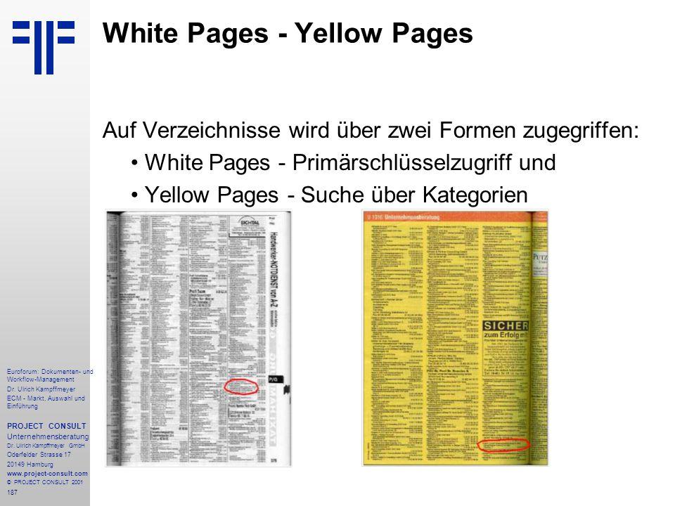 187 Euroforum: Dokumenten- und Workflow-Management Dr.