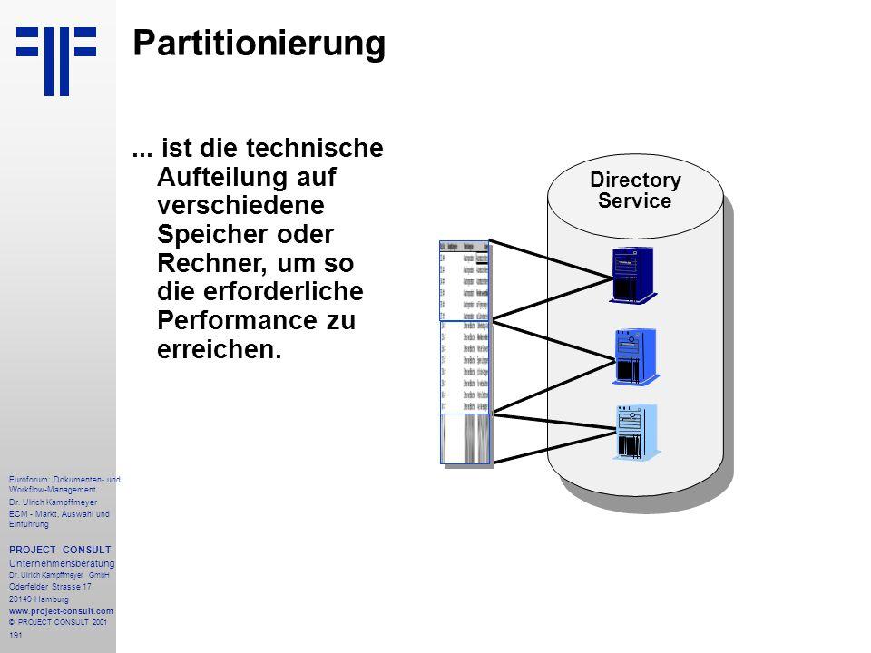 191 Euroforum: Dokumenten- und Workflow-Management Dr.